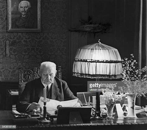 Paul Von Hindenburg Stock Photos and Pictures   Getty Images