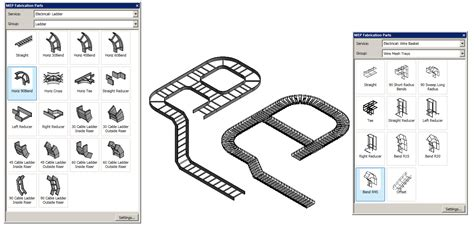 Custom Cable Tray System Families - Autodesk Community