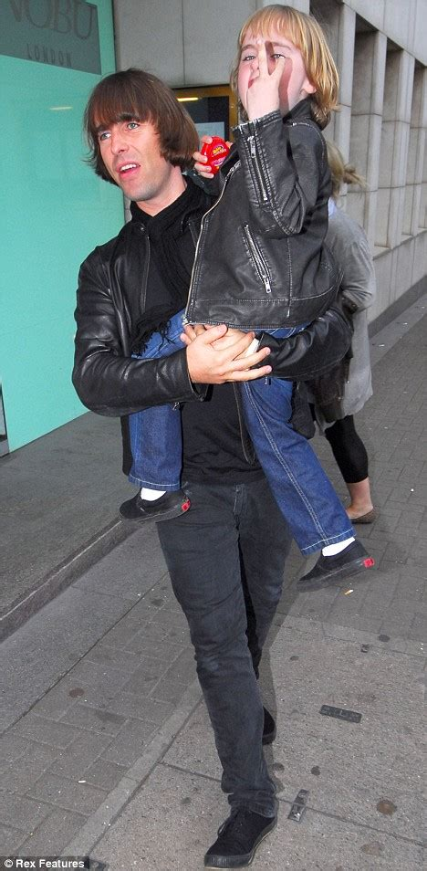 Now where did Liam Gallagher's young son learn that two