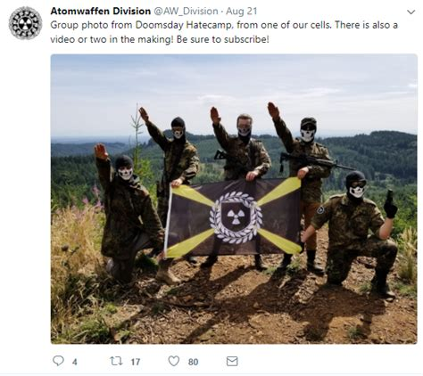 Advocates of Neo-Nazi 'Lone Wolf' Terror Are Aiming to