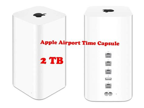 Apple AirPort Time Capsule Wireless Router 2TB HDD Wi-Fi
