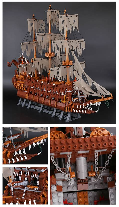 Pirates of the Caribbean The Flying Dutchman Pirate Ship