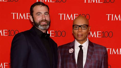"""RuPaul And His Husband Look Dashing On """"Time 100"""" Red"""
