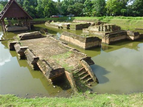 Ruins and Temples at Wiang Kum Kam, Chiang Mai Province