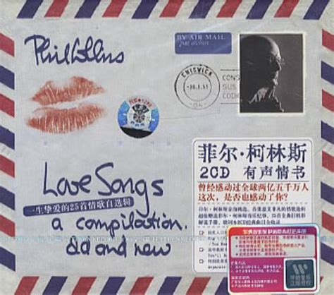 Phil Collins Love Songs - A Compilation Old And New