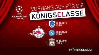 Champions League: Red Bull Salzburg in Traumgruppe mit