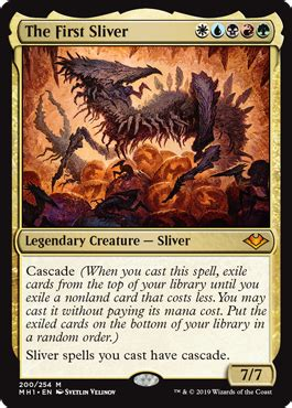 The First Sliver - Creature - Cards - MTG Salvation