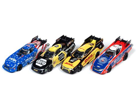 NHRA Funny Cars - 4 Gear - Release 23 - HO Scale | Round2