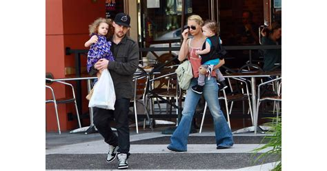 Pictures of Nicole Richie, Joel Madden, Harlow Madden, and