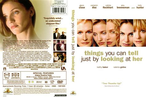 Things You Can Tell Just By Looking At Her - Movie DVD