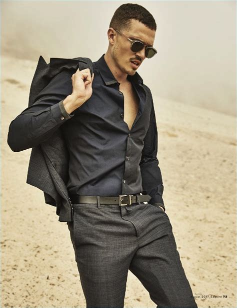 Bulletproof: Karl Glusman Dons Tailored Suits for Esquire