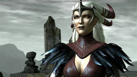 Dragon Age 2 - Flemeth's Second Appearance - YouTube