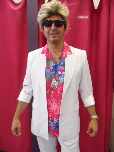 Miami Vice 80s Costume, Adult - Snog The Frog