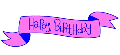 Birthday-gif-stickers for GIPHY on Behance