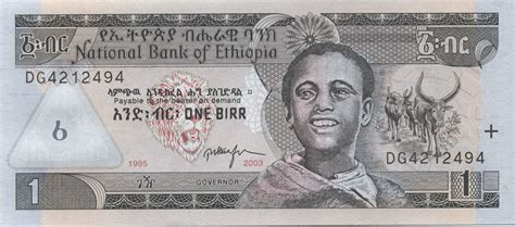 Ethiopian birr - currency   Flags of countries