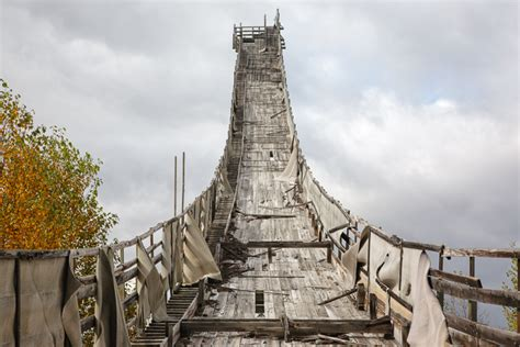 This Abandoned Ski Jump Is in What New Hampshire Town