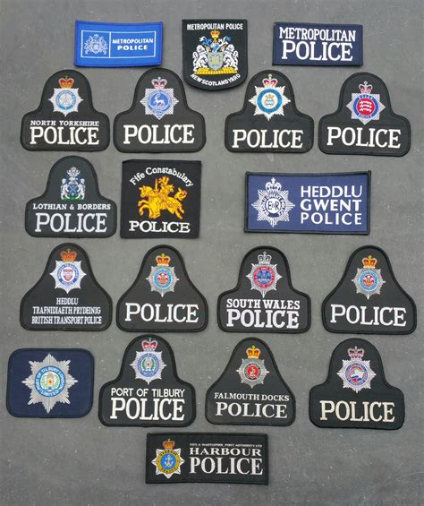 British Police Patches