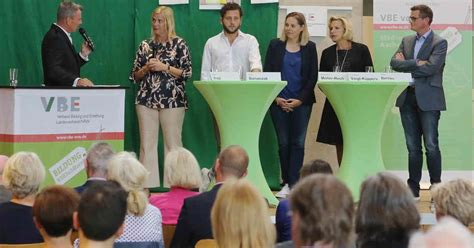 VBE diskutiert über alarmierende Personalsituation an