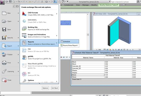 Solved: How to export a schedule from Revit to Excel