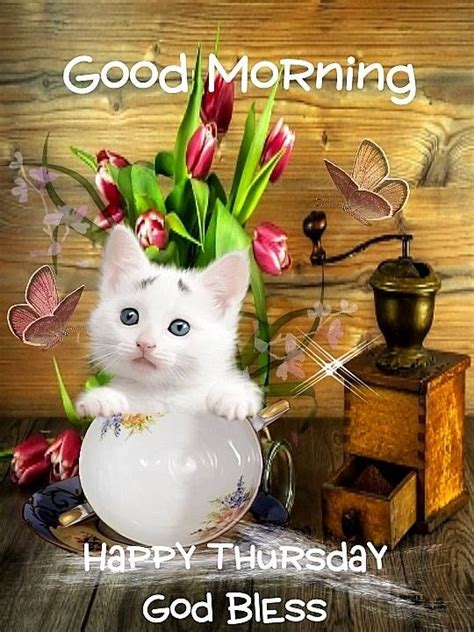 Good Morning Happy Thursday God Bless Pictures, Photos