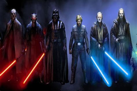 Ever wonder why Jedis and Siths have different color