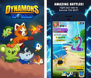 Dynamons World Apk Download latest android version 1