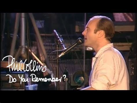 Phil Collins - Do You Remember (Official Music Video