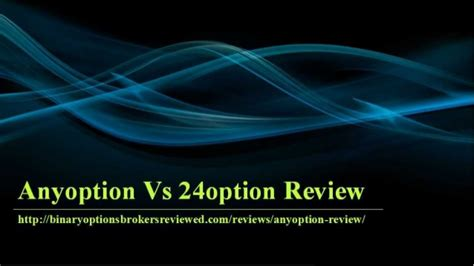 Anyoption Vs 24option review