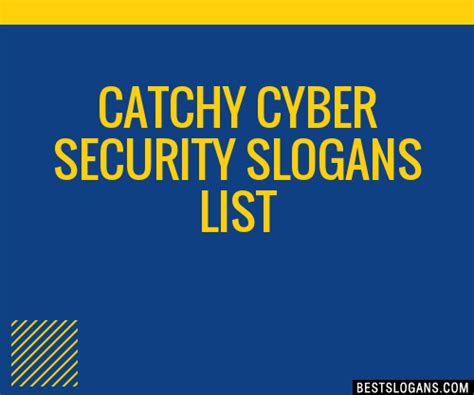30+ Catchy Cyber Security Slogans List, Taglines, Phrases