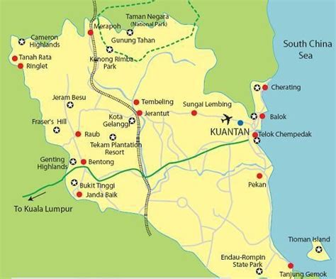Wonders Of Kuantan: Places Of Attraction