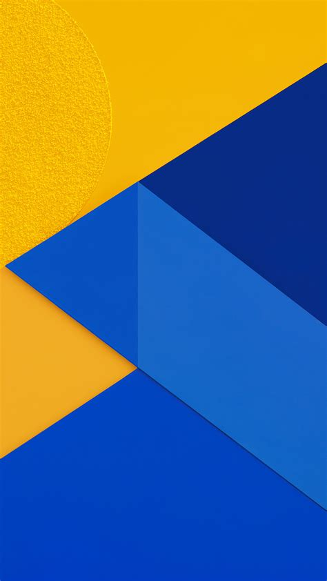vl17-android-marshmallow-new-blue-yellow-pattern - Papers
