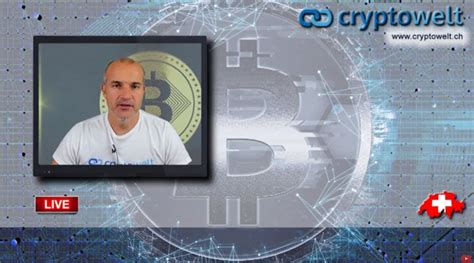 Neuer Youtube Channel «Cryptowelt» - jeden Tag LIVE