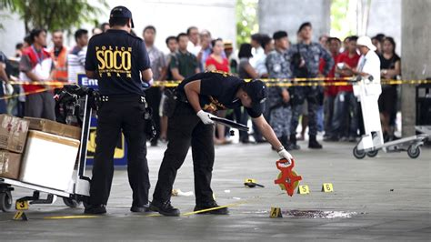 Philippines Mayor and Wife Shot Dead in Manila Airport