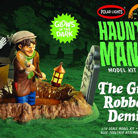 Polar Lights Haunted Manor: The Grave Robber's Demise 1:12