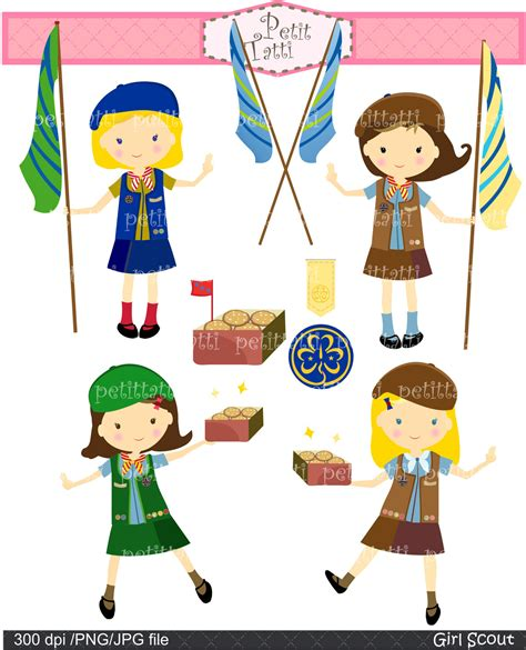 Girl scouts clipart - Clipground