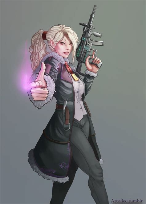 Shadowrun Character by LuisEC on Newgrounds