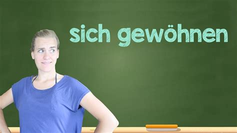 German Lesson (308) - I got used to it