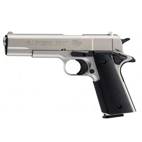 Pistola Colt Co2 Government 1911 A1 Nickel
