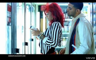 Music Video Pics: Rihanna - What's My Name? ft