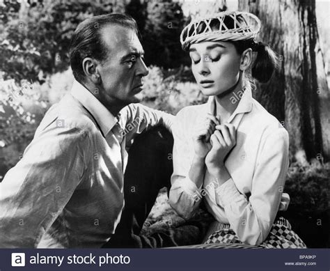 AUDREY HEPBURN & GARY COOPER LOVE IN THE AFTERNOON (1957
