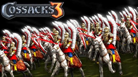 Cossacks 3 - When the Winged Hussars Arrive - YouTube